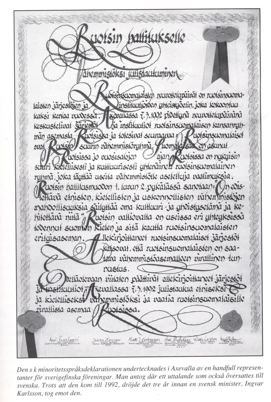 Minoritetsdeklaration